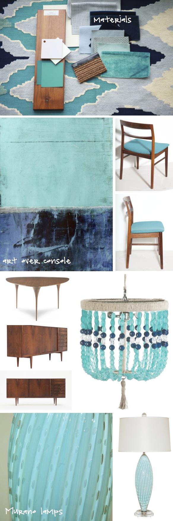 Kristina Crestin Design_Turquoise and Navy Dining Room