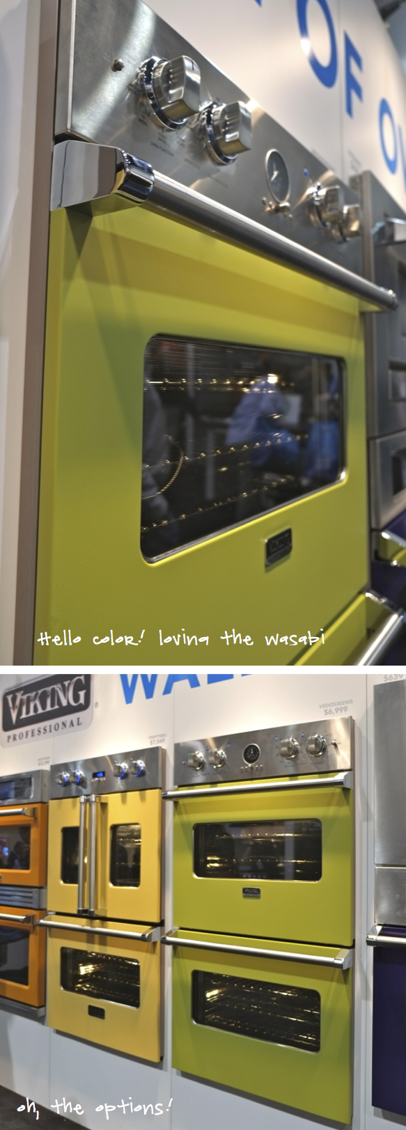 Kristina Crestin Design_Blog Post Viking Oven Wasabi