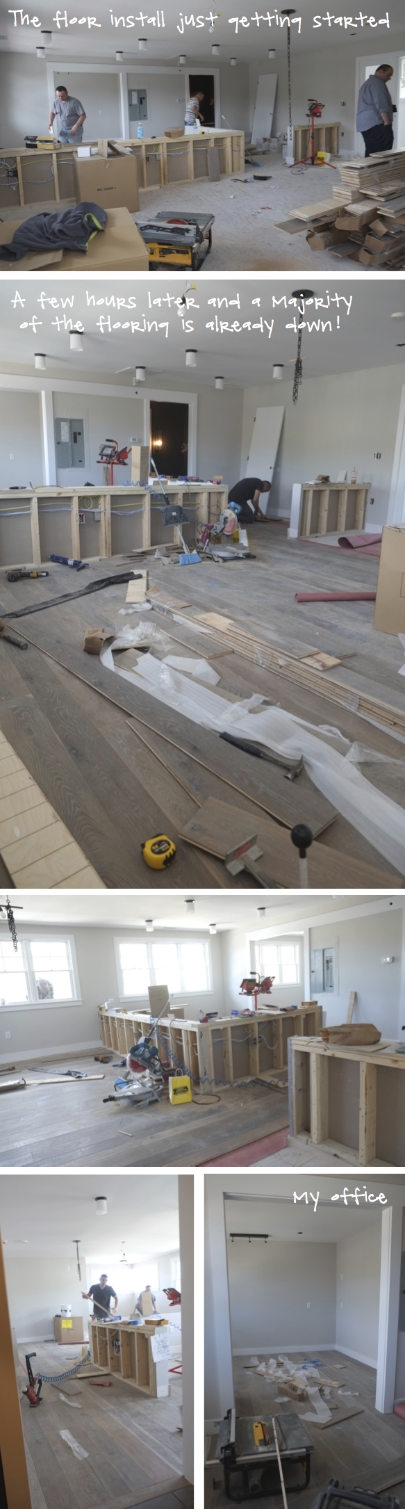 Kristina Crestin Design_Wood Floor going in