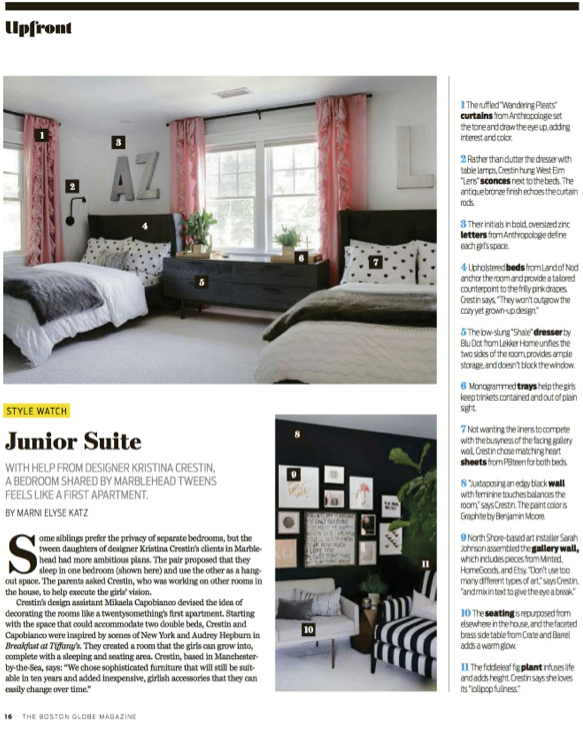 Kristina Crestin Design_Boston Globe Magazine