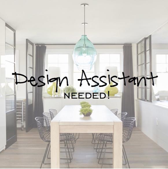 Interior Designer Assistant